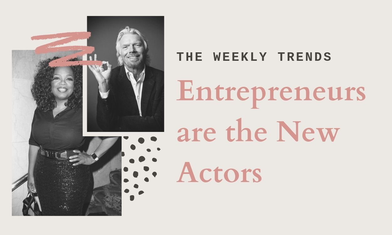Entrepreneurs are the New Actors in the 21th Century