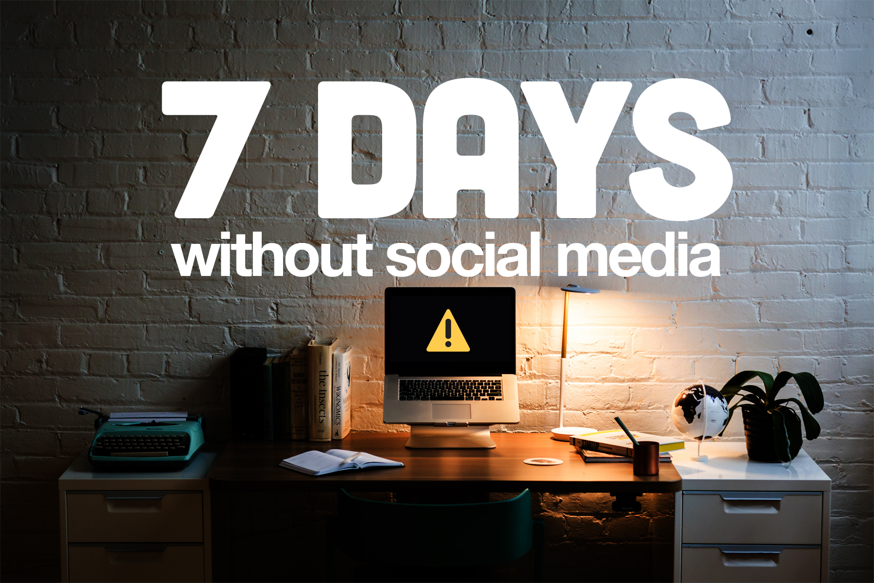 7 Productive Days without Social Media