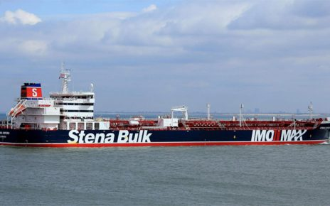 British-Flagged Oil Tanker