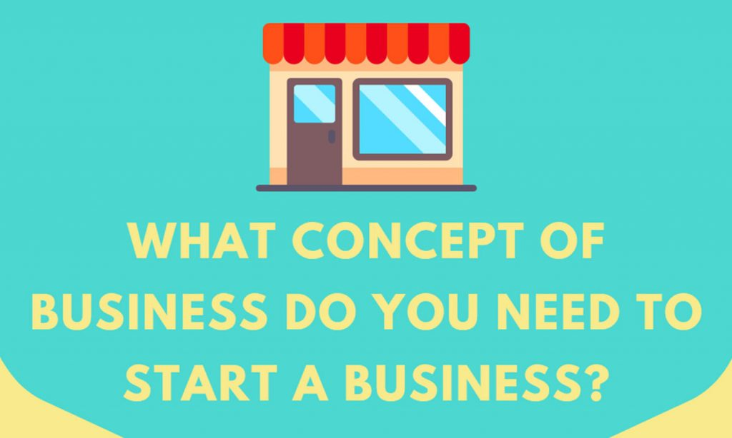What Concept Do You Need to start a Business?