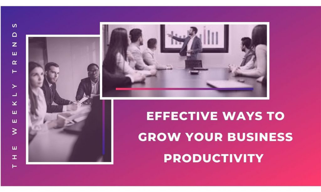 5 Effective Ways to Grow Your Business Productivity