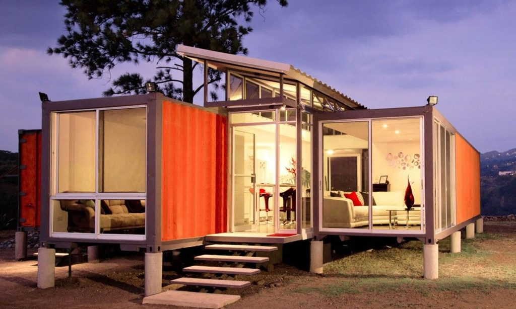 Build Homes with Shipping Containers