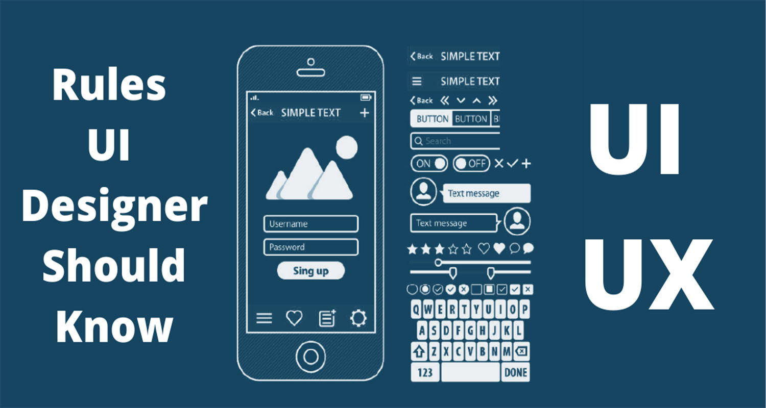 The 10 rules every UI designer should know