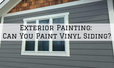 How to Paint your Vinyl Siding